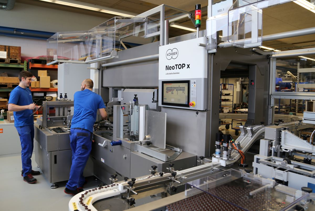 Körber LOCK solution for accelerated Machine Qualification