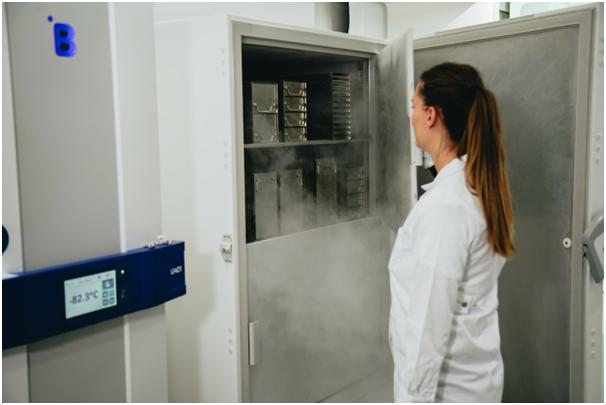 B Medical Systems' Ultra-Low Freezer U201
