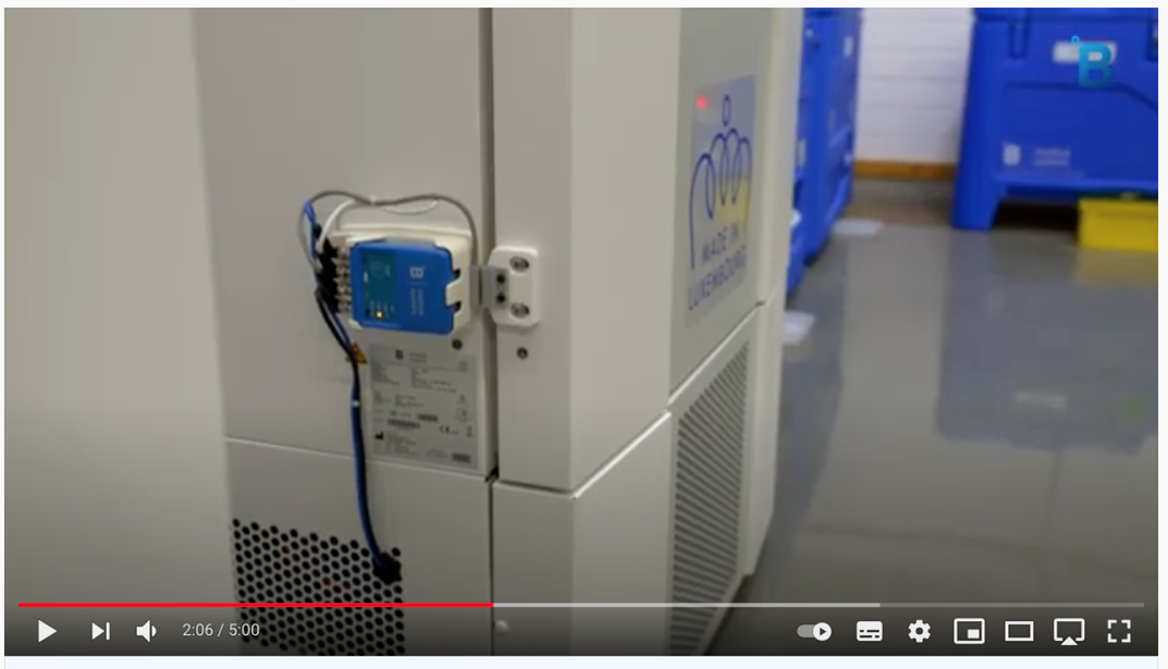 B Medical Systems video shows hi-tech end-to-end COVID-19 vaccine roll out infrastructure