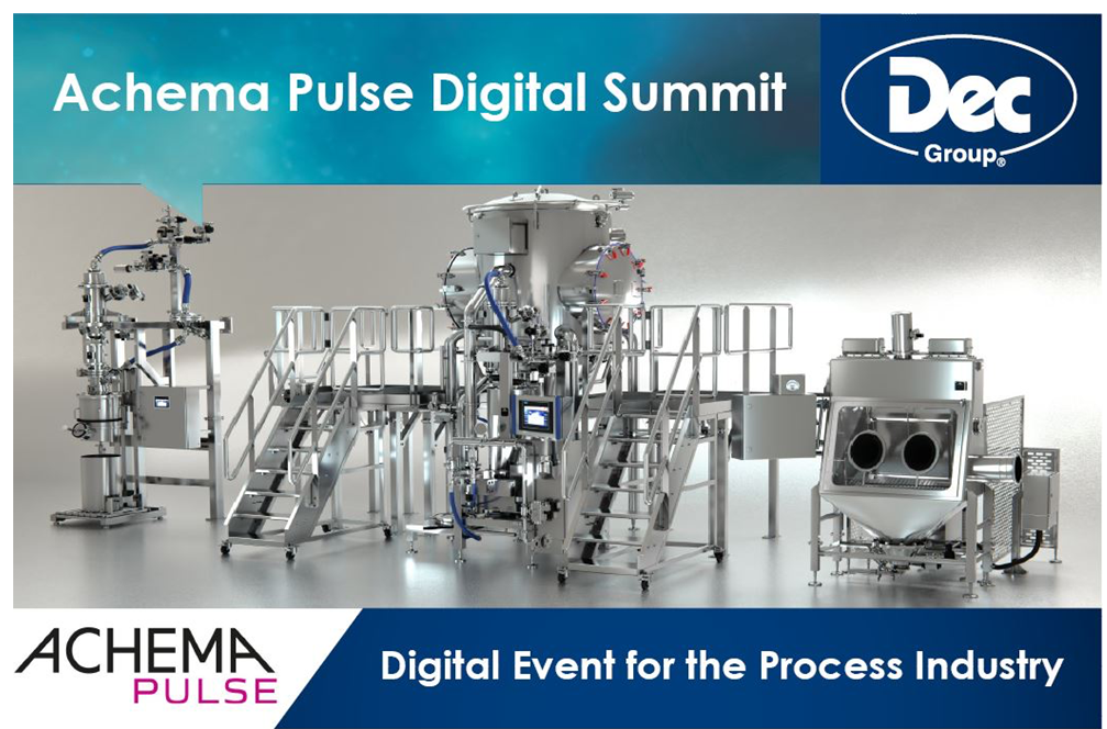 Dec Group to highlight revolutionary SafeDock® system at ACHEMA Pulse live online event