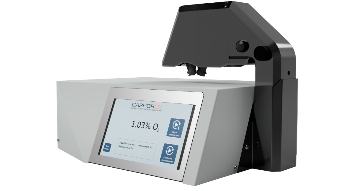Gasporox GPX1500 Film Pharma tester: a new approach to headspace gas inspection