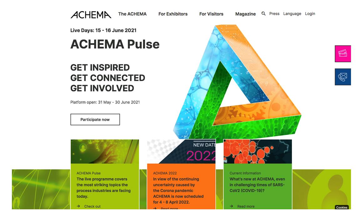 Rommelag online at ACHEMA Pulse