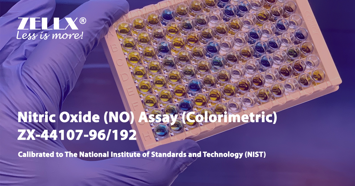 ZELLX® colorimetric nitrous oxide NO assay kit
