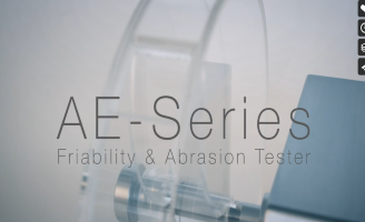 AE-Series – Friability and Abrasion Tester for Tablets – Charles Ischi AG