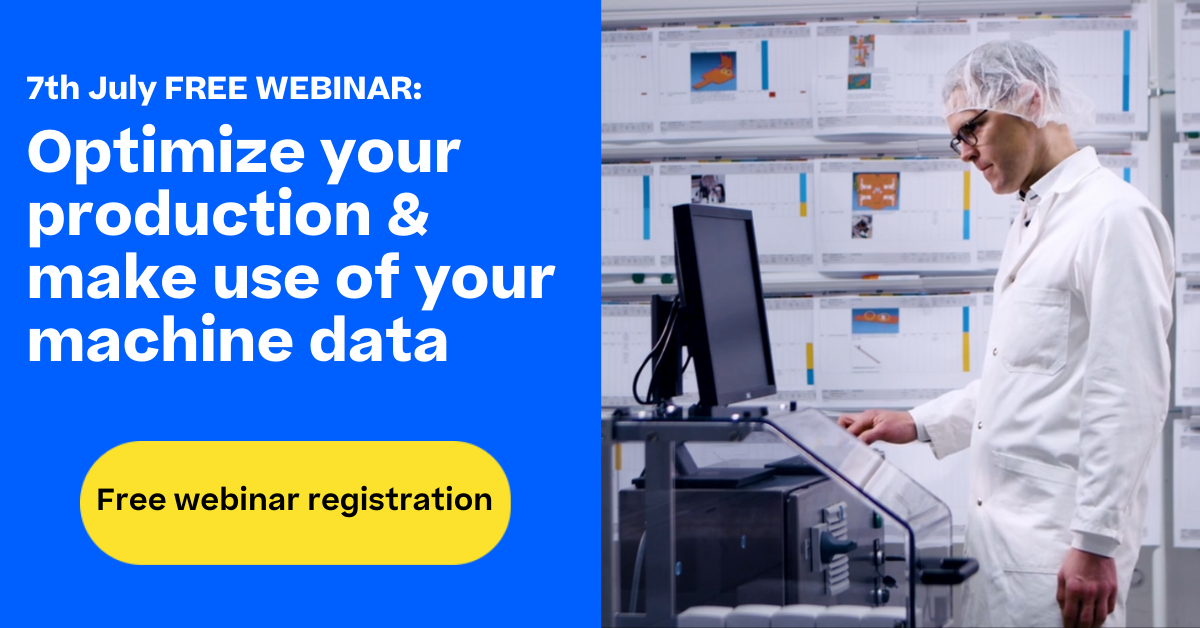 Free webinar: How to use machine data to optimize production efficiency in pharma with Körber's Lion.Manage