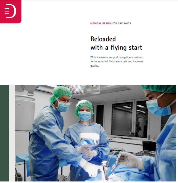 Medical Design for Naviswiss – Reloaded with a flying start