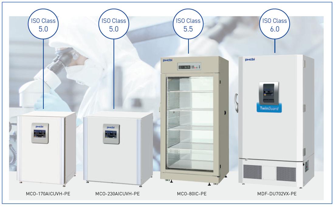 PHCbi Cleanroom classification