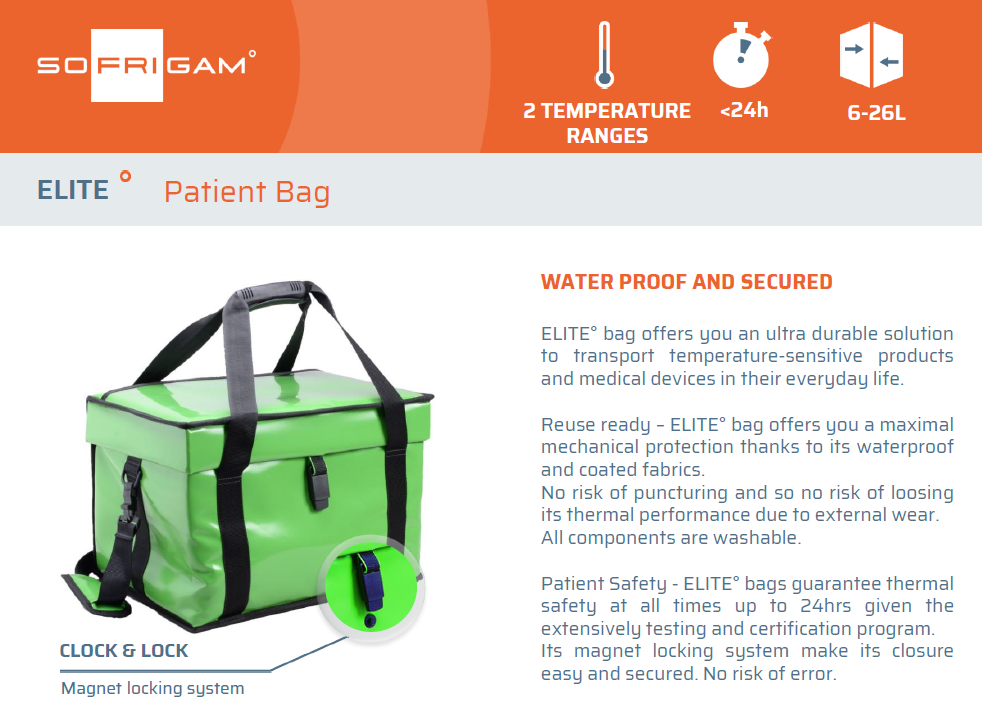 ELITE – Patient Bag