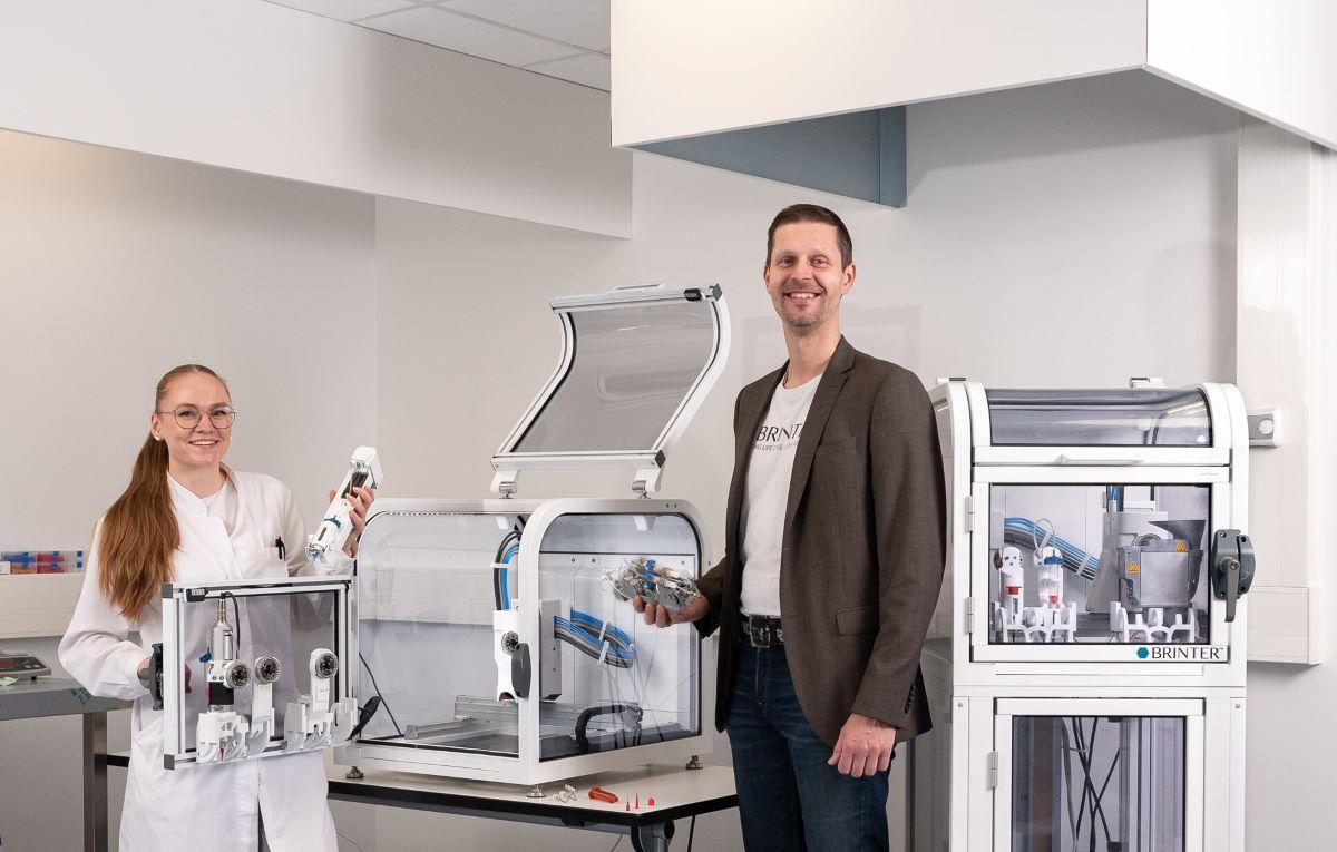 Brinter Raises €1.2M in Seed Funding for 3D Printing Bioscience platform
