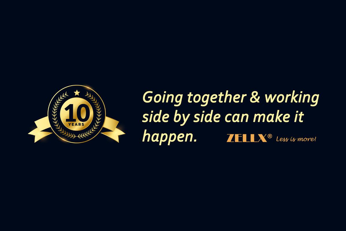 ZellBio celebrates 10th Anniversary with 10% discount