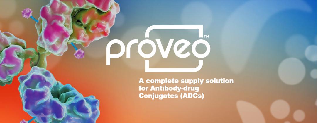 Restructured Proveo one stop shop for pharma Antibody Drug Conjugates (ADCs)